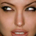 angelina_jolie_eye_makeup_bollywood_mobile_wallpaper.jpg , 6 Eye Makeup For Angelina Jolie In Make Up Category