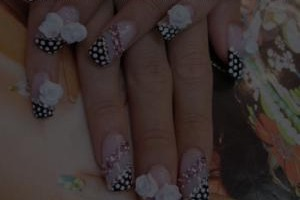 Nail , 7 Artificial Nail Designs :  artificial nail christmas designs