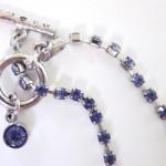 Vintage-Blue Crystal-Blue Rhinestone Necklace ...   Etsy-Vintage Clot ... , 6 Crystal Necklace Etsy In Jewelry Category