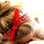 bandana and bun , 6 Bandana Hairstyles In Hair Style Category
