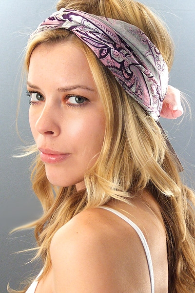 Hair Style , 6 Cute Bandana Hairstyles : Spring/Summer 2011 Yellow Color Trend