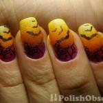 batty nail art , 8 Batty Nail Art Designs In Nail Category