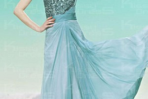 Fashion , 7 Long Vintage Prom Dresses : beading tencel vintage a line one shoulder long prom dress