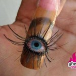 big eye nail design , 5 Bloodshot Eyes Nail Design In Nail Category
