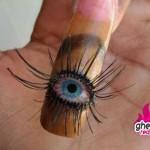 big eye nail design , 5 Bloodshot Eyes Nail Design In Nail Category