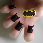 black batty nail polish , 8 Batty Nail Art Designs In Nail Category