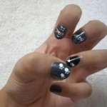 black cat nail , 7 Black Kitty Nail Art In Nail Category