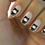 black kitty nail art , 7 Black Kitty Nail Art In Nail Category