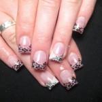 black lace nail art design , 10 Lace Nail Art Design In Nail Category
