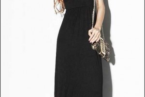 Fashion , 6 Casual Long Black Dress : long black casual dress image search results