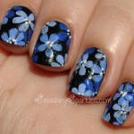 blue+flower+nail+art+cult+nails+living+water-002.JPG , 6 Blue Prom Nail Designs In Nail Category