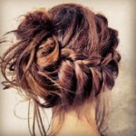 braid bun cute hair , 6 Buns With Braiding Hair In Hair Style Category