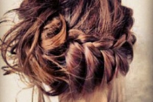 Hair Style , 6 Buns With Braiding Hair : braid bun cute hair