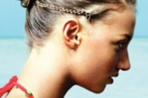 Hair Style , 6 Small Braided Hairstyles : braided hairstyle with small bun