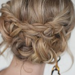 braided updos for medium hair , 7 Braiding Updos In Hair Style Category