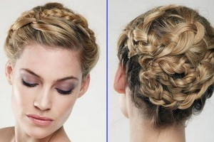 Hair Style , 7 Braided Updos For Weddings : ... hairstyles for weddings taking place between different wedding themes