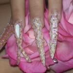 Home » Nails style photo gallery: nails » breast cancer design , 5 Breast Cancer Nail Designs In Nail Category