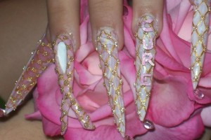 Nail , 5 Breast Cancer Nail Designs : Home » Nails style photo gallery: nails » breast cancer design