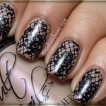 Lace Nail Art Designs | Nail Art - My style , 6 Lace Nail Art Design In Nail Category