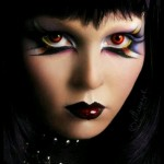Goth Gothic I love her eye makeup | Eyes & Makeup , 6 Goth Eye Makeup In Make Up Category