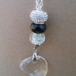 Long crystal necklace with beads by LeeliaDesigns on Etsy, ...   bijo ... , 6 Crystal Necklace Etsy In Jewelry Category