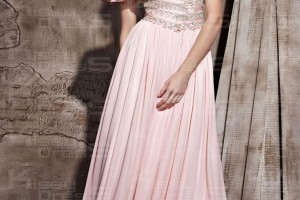 Fashion , 7 Long Vintage Prom Dresses : chiffon vintage a line vneck short long prom dress