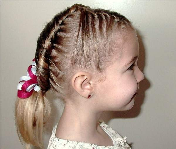 Little Girls Updo Hairstyles 6 Updos For Little Girls With