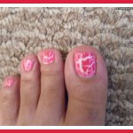 Nail Designs Using Crackle , 6 Crackle Toe Nail Designs In Nail Category