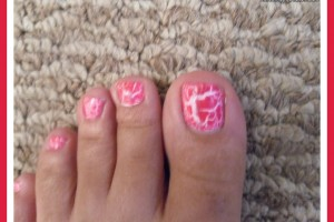 779x600px 6 Crackle Toe Nail Designs Picture in Nail