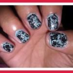 Crackle Nail Polish Designs Pictures Photos Video Pictures 39 , 6 Crackle Toe Nail Designs In Nail Category