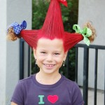 crazy hair for girl , 7 Crazy Hair Day Styles For School In Hair Style Category