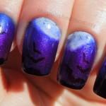 creative batty nail art , 8 Batty Nail Art Designs In Nail Category
