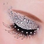crystal rhinestone eye make-up , 7 Rhinestone Eye Makeup In Make Up Category