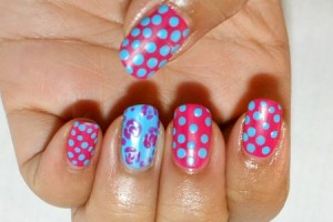 Nail , 7 Scotch Tape Nail Designs :  cute scotch tape nail designs