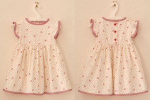 Fashion , 8 Vintage Style Dresses For Kids : cute vintage style dress for kid