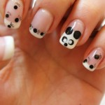 cutu white panda nail art , 5 Panda Nail Art Designs In Nail Category