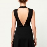 Little Black Dress - Backless Dress - Turtleneck Dress - $37.50 , 6 Little Black Dress Backless Idea In Fashion Category