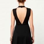 Little Black Dress - Backless Dress - Turtleneck Dress - $37.50 , 6 Little Black Dress Backless Idea In Fashion Category