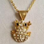 Swarovski Crystal Frog Necklace by joytoyou41 on Etsy, ...   Jewelry , 6 Crystal Necklace Etsy In Jewelry Category