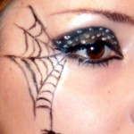Make up Tutorial – Spider Web for Halloween | Makebrazil\'s Blog , 5 Spider Web Eye Makeup In Make Up Category