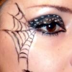 Make up Tutorial – Spider Web for Halloween | Makebrazil\'s Blog , 5 Spider Web Eye Makeup In Make Up Category