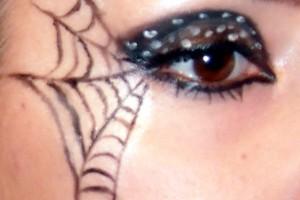 Make Up , 5 Spider Web Eye Makeup : Make up Tutorial – Spider Web for Halloween | Makebrazil\'s Blog