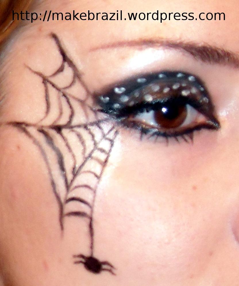 Spider Web Eye Makeup Tutorial Jidimakeup