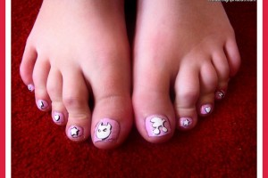 Fashion , 6 Easy Toe Nail Designs : Easy Toe Nail Art Designs