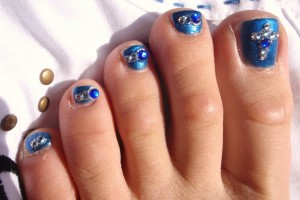 Fashion , 6 Easy Toe Nail Designs : Nail Art 101: Nail Designs Pictures Choices