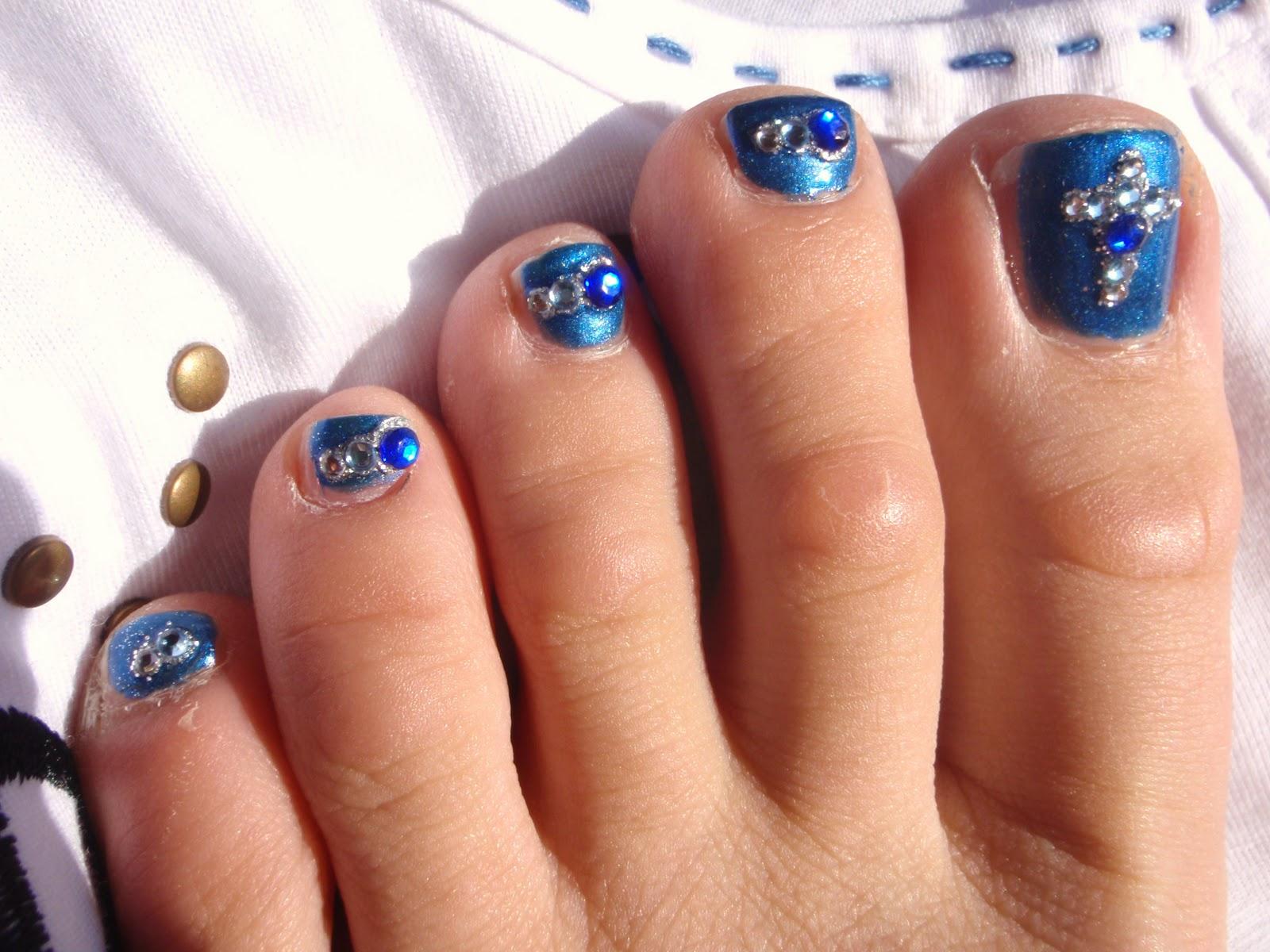 Nail Art 101: Nail Designs Pictures Choices : 6 Easy Toe Nail ...