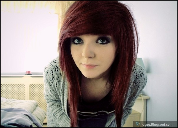 Emo Girl, Adorable, Brown Hair, Cute | 116images : 16 Emo Hairstyles ...