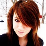 Emo Haircuts Hairstyles | Brown Emo Girl Hair , 6 Emo Hairstyles For Girls With Brown Hair In Fashion Category