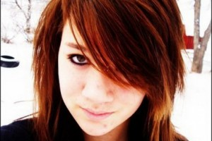 Fashion , 6 Emo Hairstyles For Girls With Brown Hair : Emo Haircuts Hairstyles | Brown Emo Girl Hair