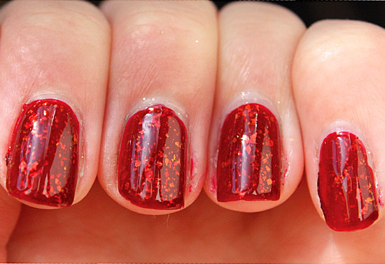 Nail , 6 Red Nail Polish Ideas : Fabulous Red Nail Polish